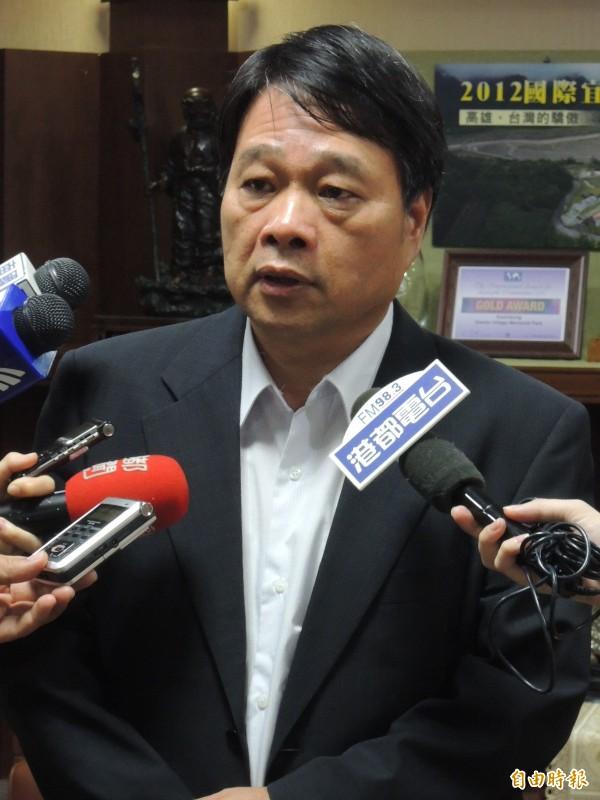 高市財政局長簡振澄今晨病逝。(記者王榮祥攝)