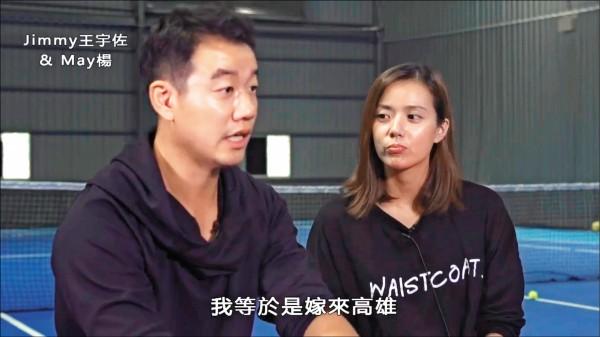 在國際網壇男子單打最高排名85名、與盧彥勳齊名的網球名將王宇佐,已隨愛妻「南漂」定居高雄,更在大寮建立自己的網球訓練基地。(取自網路)