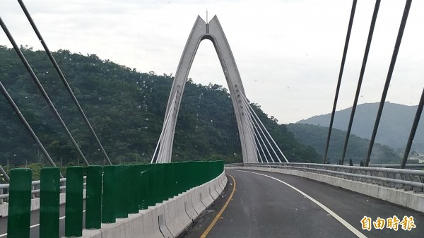 蘇花改白米景觀橋。(資料照)