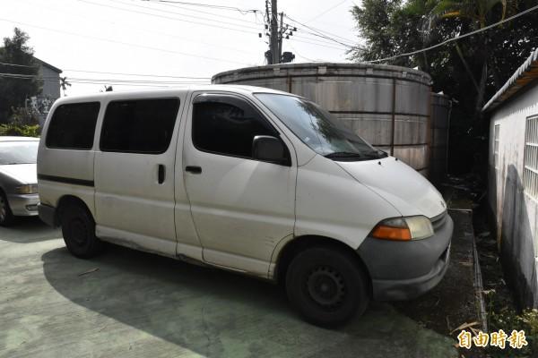 華南社區醫療站醫療專車車齡14年、已行駛45公里。(記者黃淑莉攝)
