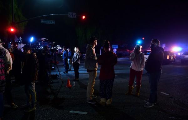 美國加州千橡市(Thousand Oaks)一間酒吧,在當地周三(7日)深夜發生槍擊案,死傷慘重。(法新社)