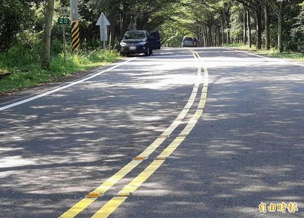 八卦山139線20公里處已傳出多起重大死傷事故,被網友封為139線「最陰路段」。(記者湯世名攝)