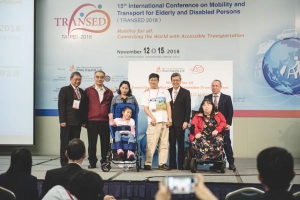 伊甸基金會今辦理長者及身心障礙者交通及運輸服務國際大會(TRANSED),本屆主題為「人人自由行:無障礙交通連結全世界」,透過國際產官學研代表交流提升台灣環境友善度。(伊甸基金會提供)