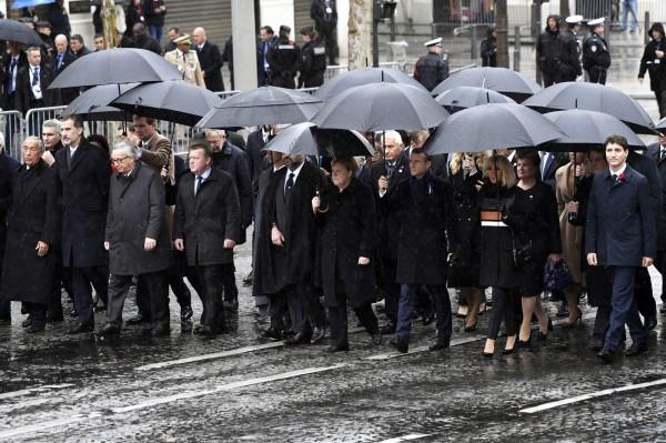 當全球70國領袖齊聚法國巴黎紀念一戰百週年時,中國國家主席習近平卻缺席這一歷史場合。(歐新社資料照)