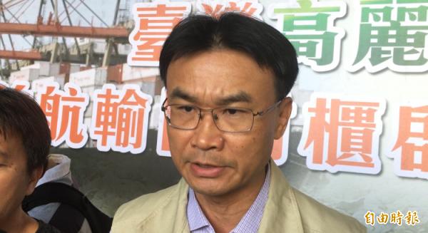 農委會副主委陳吉仲。(記者顏宏駿攝)