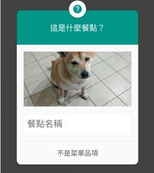 店犬早起工作還被Google當成餐點,一臉無奈的厭世模樣,讓原PO不禁笑稱,「該如何為這麼可愛又厭世的狗狗平反呢?」(圖擷取自PTT)