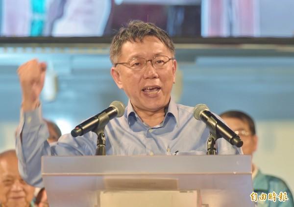 有網友在PTT發問,好像很多台北人都覺得柯文哲沒什麼政績,請在地人現身說法,引來熱議。(記者黃耀徵攝)