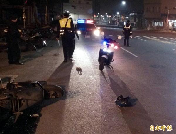 今天凌晨,高雄市苓雅區1名女子,和朋友練習騎機車時,卻不慎撞破連鎖賣場的落地玻璃。(示意圖,資料照)