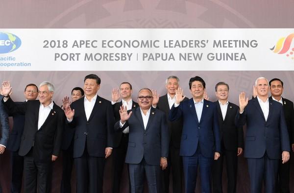 APEC峰會落幕,首度沒有發表領袖宣言。(法新社)