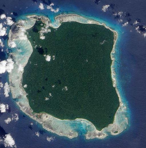 印度當局禁止任何人進入北森蒂納爾島,包含附近海域。(圖擷自維基百科)