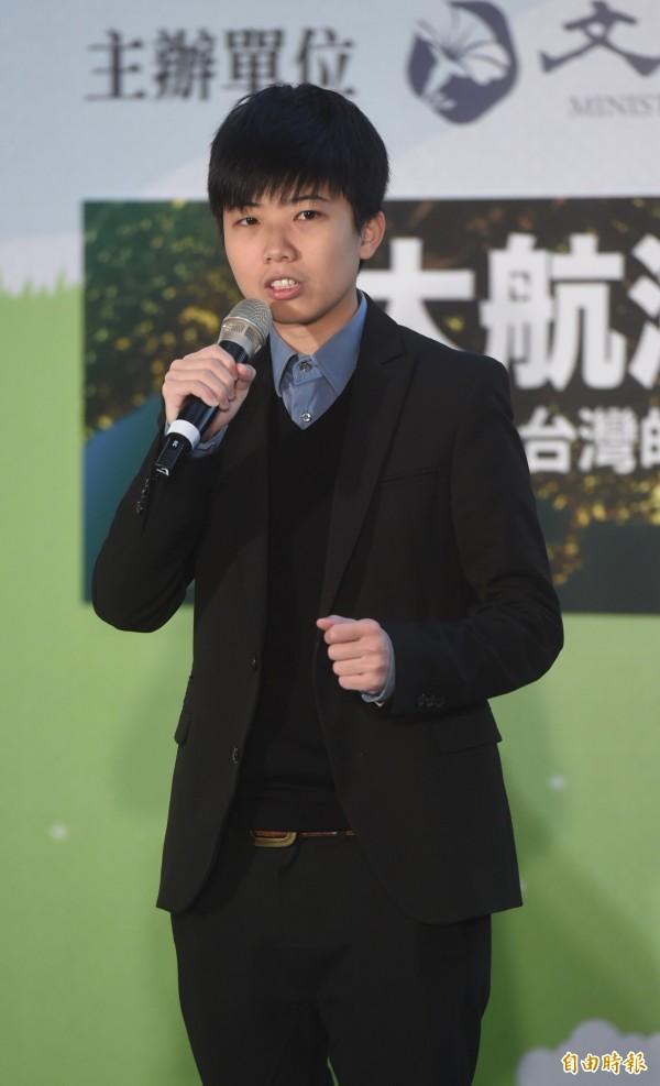 社民黨大安文山區候選人苗博雅。(資料照)