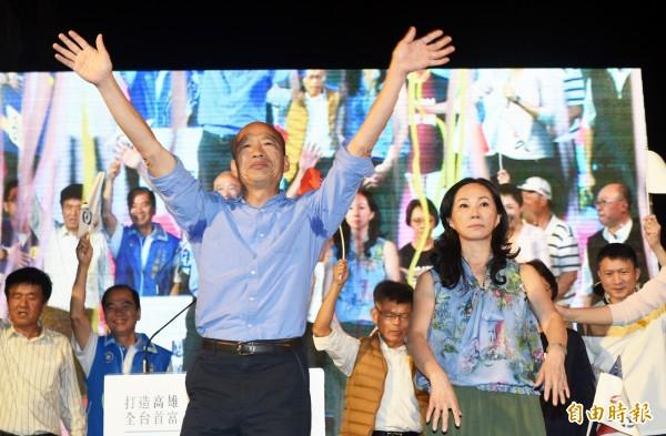 高雄市長選舉韓國瑜贏下28區,其中又以鳳山拿下11萬8466票、三民拿下10萬5406票最多。(記者張忠義攝)