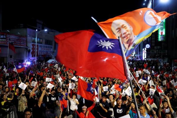 有德媒認為,此次台灣九合一選舉結果,形同是「北京的勝利」。(路透資料照)