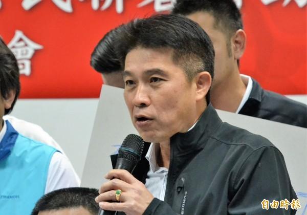 李世斌將代表民進黨角逐屏東縣副議長。(記者侯承旭攝)