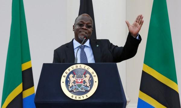 相較於來自西方世界的資助,非洲諸國的領袖更樂意接受來自中國的「善意」,對此,坦尚尼亞總統馬古弗里(見圖)說,「因為中國給錢不囉嗦」。(路透)