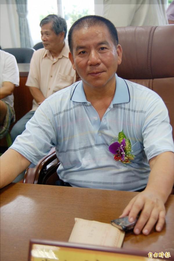 草屯鎮代洪登9連霸成功,為全國連任最多屆的民代。(記者陳鳳麗攝)