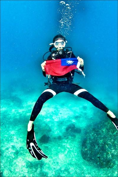 2018國際潛水小姐選美結果上月底出爐,來自台灣27歲的品茶師黃毓雯充分展現台灣人特有的熱情笑容,一舉摘下亞軍。(圖:MISS SCUBA INTERNATIONAL提供)