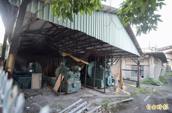 國民黨「幽靈黨產」松山油漆廠,市值高達40億元。圖為松山油漆廠內部一景(記者黃耀徵攝)