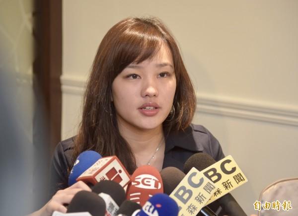韓國瑜女兒韓冰(圖)傳有意從政。(資料照)