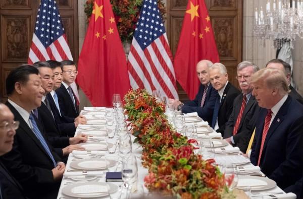 英國媒體報導,中國政府早在川習會晚宴之前,就得知孟晚舟被捕的消息,但習近平為了專心處理貿易戰,決定不在晚宴中提及此事。(法新社資料照)