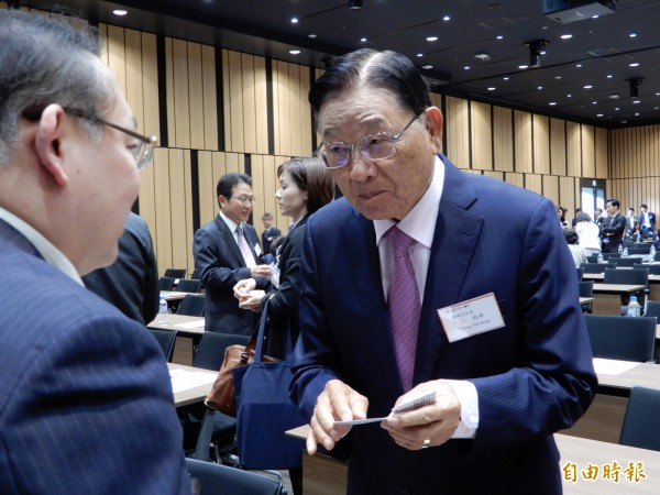 海基會前董事長江丙坤今晚病逝。(資料照,記者林翠儀攝)