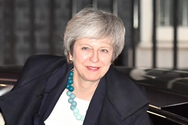 英國首相梅伊今日透過發言人表示,脫歐協議投票會在明年1月21日前舉行。(法新社)