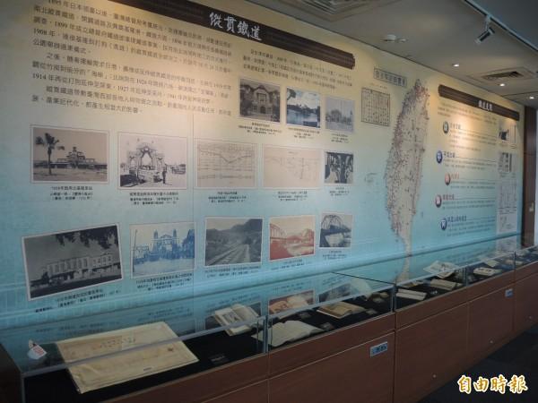 台圖定期舉辦館藏的文史與主題展。(記者翁聿煌攝)