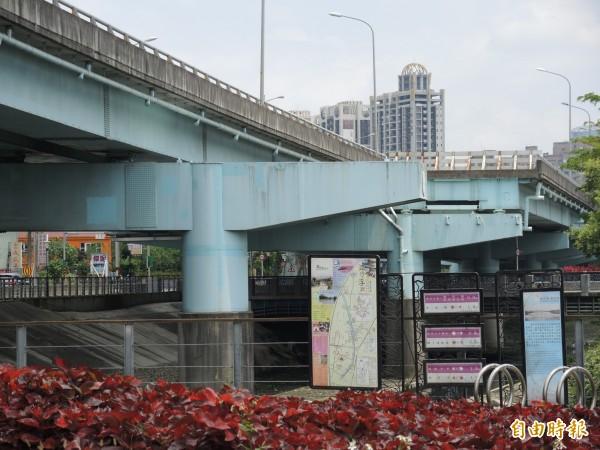 蘇巧慧爭取台65線增設浮洲匝道計畫獲交通部通過。(記者翁聿煌攝)