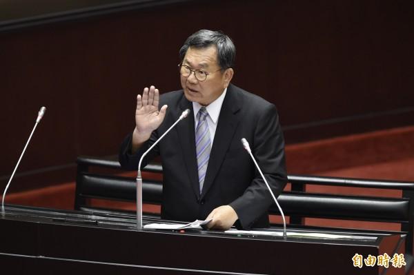 立委陳明文被控洩密判刑6月,最高法院駁回確定。(資料照)