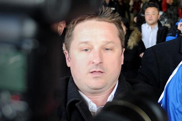 中國官媒稱,史派佛涉嫌從事危害中國國家安全的活動,目前正在被「依法審查」。(法新社)
