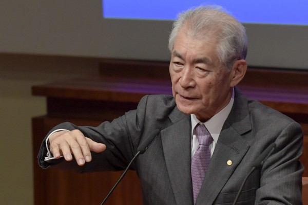 日本明年度的科研費擬增加超過100億日圓。圖為榮獲2018年諾貝爾生理醫學獎導的日本免疫學家本庶佑。(法新社)