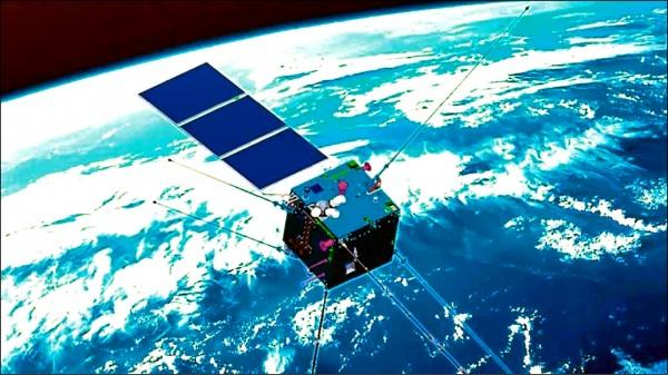 中國「張衡一號」電磁監測衛星(取自網路)
