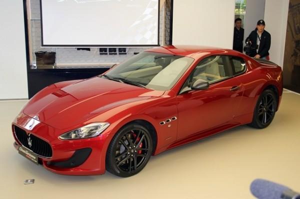 瑪莎拉蒂GranTurismo MC Sport Line特仕版,價值約800萬元,2015年在台販售,全台僅有10輛。(資料照)