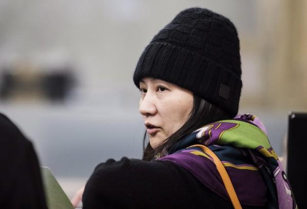 中國官媒稱,「打壓華為是當代最大的科技冤案」,圖是華為首席財務官孟晚舟。(美聯社)