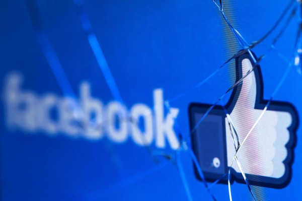 臉書因沒有保護用戶個資遭檢察官起訴。 (法新社)