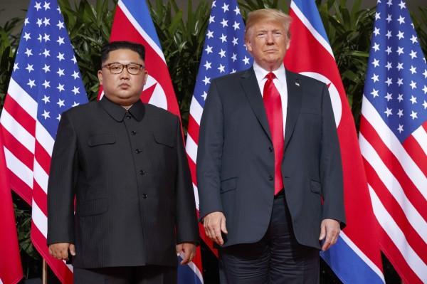 北韓官媒發表聲明,指出美方也得消減核武。(美聯社)