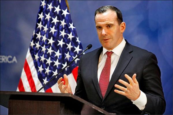 負責協調聯軍打擊伊斯蘭國(IS)的美國特使麥格克,批評撤軍太過唐突。(法新社檔案照)