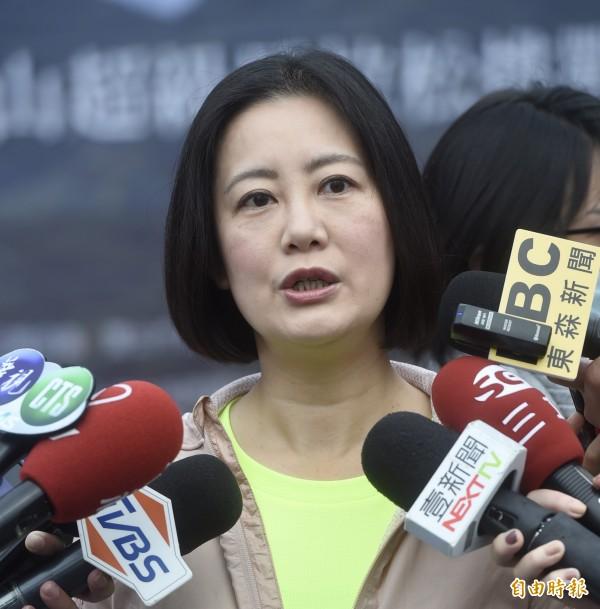 民進黨立委吳思瑤(見圖)說,她看記者會才知道教育部同意管中閔出任台大校長,這樣的決定,實在非常遺憾,並痛批「這樣的執政,比在野還不如」!(資料照,記者簡榮豐攝)