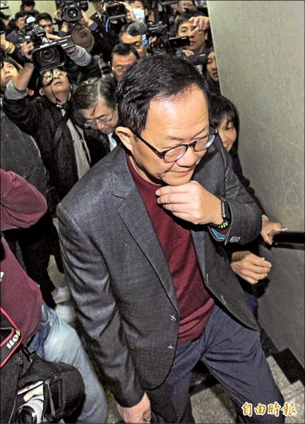 丁守中提選舉無效訴訟,昨首度開庭。(記者王藝菘攝)