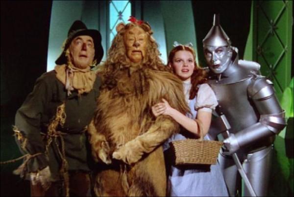 義大利都靈大學指出,好萊塢1939年經典電影《綠野仙蹤》,為史上最具影響力的電影,因為被引用的次數最多。(取自網路)