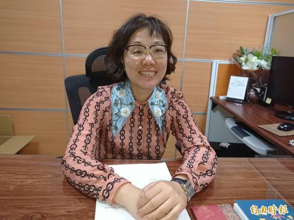 南市首位女副市長王時思,力推觀光旅遊,注入城市經濟活力。(記者洪瑞琴攝)