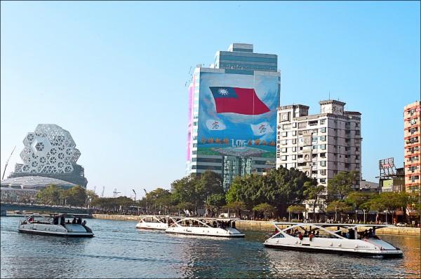 高雄市長韓國瑜喊出徵收「城市稅」的想法,韓國瑜表示,只要不是中華民國國民,進來到高雄市,都是徵收對象。(資料照)