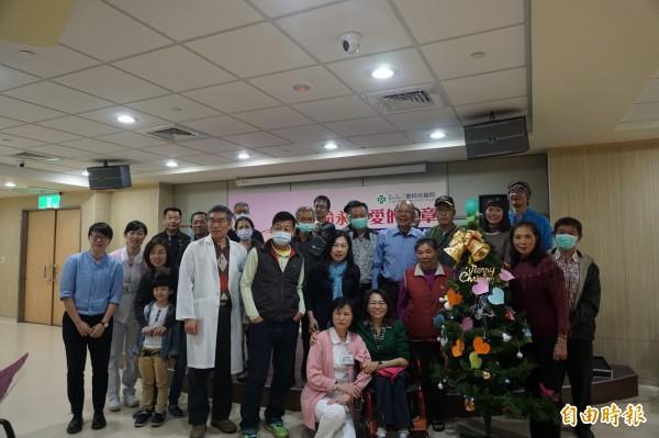 童綜合醫院舉行器官捐贈移植感恩音樂會。(記者張軒哲攝)