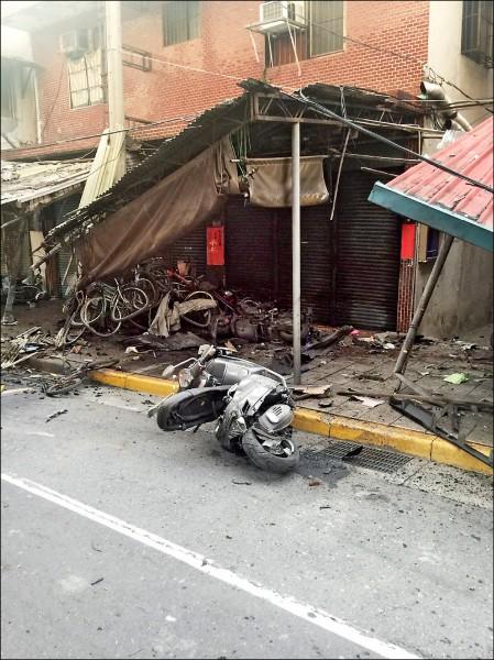 郭俊邑酒駕衝撞店面、騎士,一騎士死亡。(資料照)