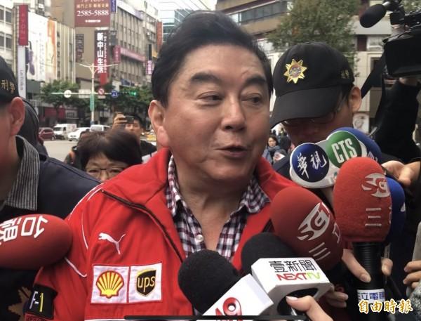 補教名師高國華今日凌晨涉嫌酒駕被台北市警方查獲。(記者劉慶侯攝)