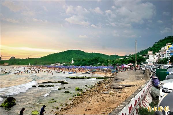 花蓮海洋公園在跨年連續假期第2天,單日入園人數超過8千人。(花蓮海洋公園提供)