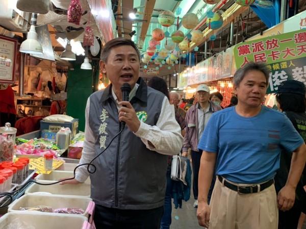 民進黨前副秘書長李俊毅驚傳退出台南第二選區立委補選。(記者萬于甄翻攝)