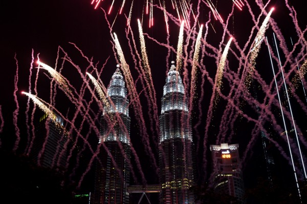 馬來西亞吉隆坡雙子塔。(美聯社)