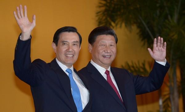 習近平在新聲明中將九二共識定調為:「兩岸同屬一個中國,共同努力謀求國家統一」。(法新社資料圖)