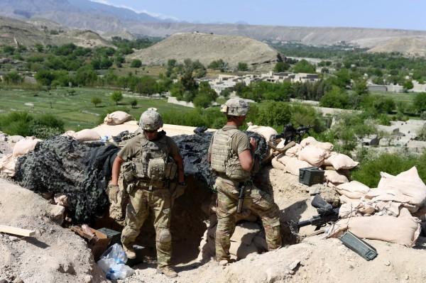 美軍駐阿富汗已17年。(歐新社)
